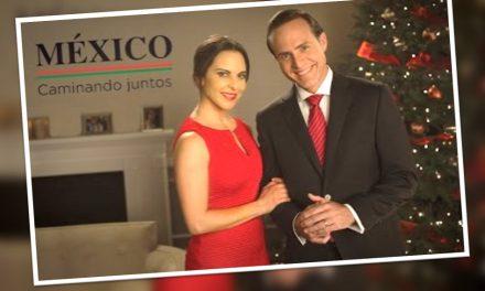 """Kate del Castillo es la """"primera dama"""" y manda mensaje navideño al pueblo de México"""