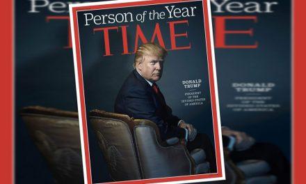 """Time elige a Trump como """"la persona del año"""" (de los Estados DIVIDIDOS de América)"""