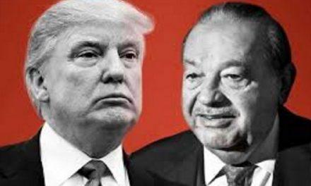 Trump y Slim cenaron juntos en Florida