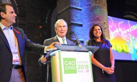Entregan en CDMX Premios Ciudades C40 a los mejores proyectos sustentables y resilientes del mundo