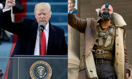 """¿Trump plagia frase de """"Bane"""" (Batman) para su discurso inaugural? VIDEO"""