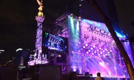 Disfrutaron 80 mil personas concierto gratuito de Fin de Año en Avenida Paseo de la Reforma