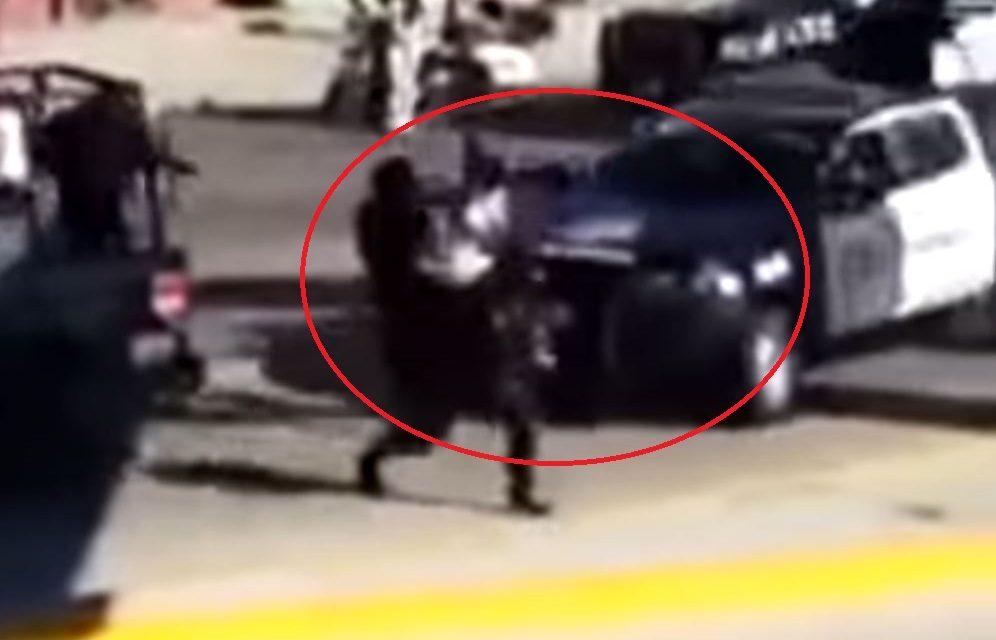 VIDEO   Saqueo en tienda Elektra; policía dispara y atropella