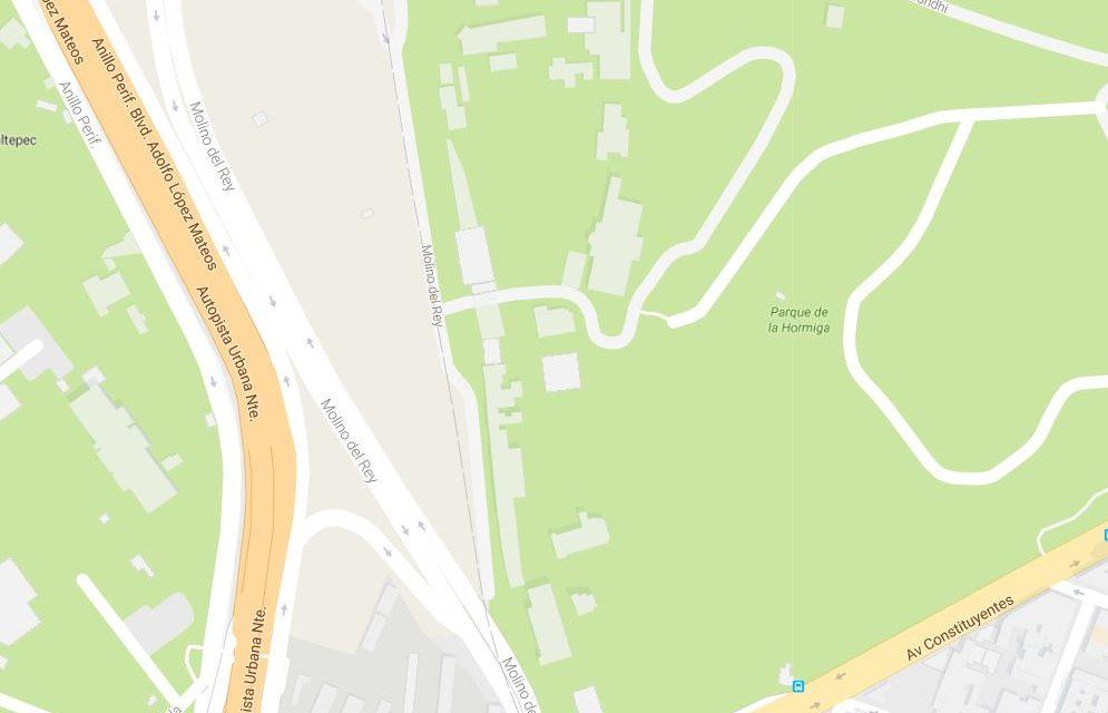 Le cambian el nombre a Los Pinos en Google Maps