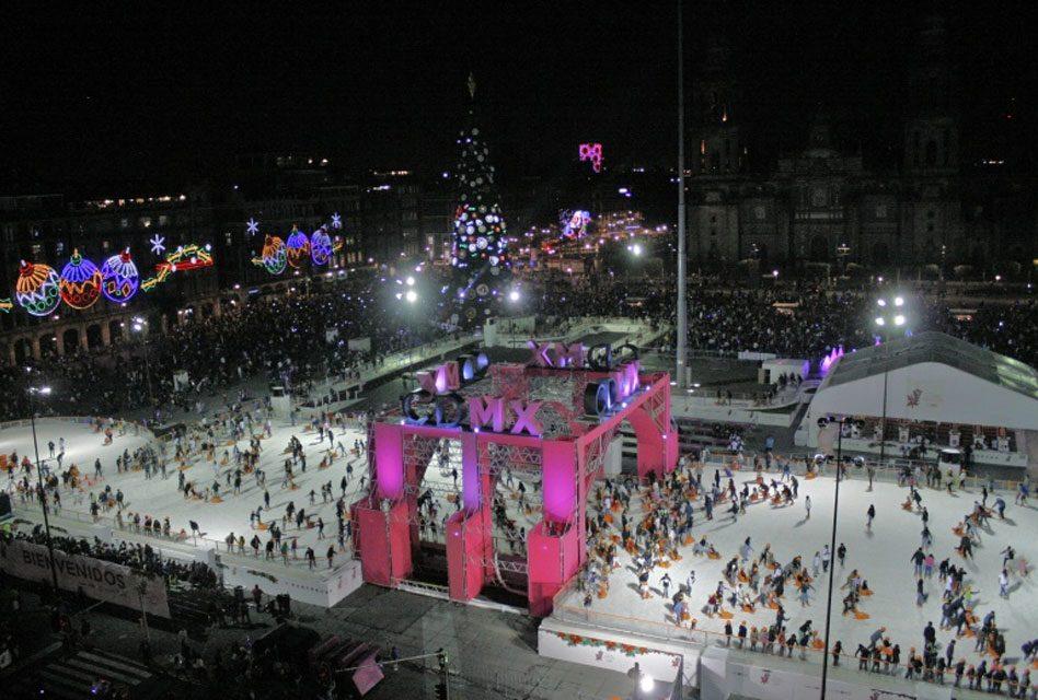 Un millón 200 mil visitantes han disfrutado de los atractivos navideños en CDMX
