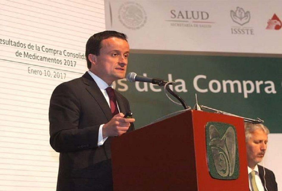 Sector salud ahorra 3 mil 352 mdp en compra de medicamentos