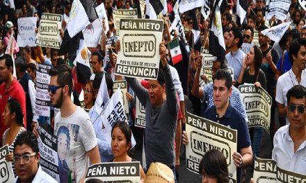 Masivas movilizaciones contra gasolinazo en todo el país, exigen renuncia de Peña