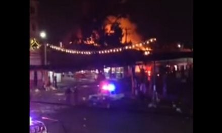 Se incendia mercado municipal de Chalco (video)