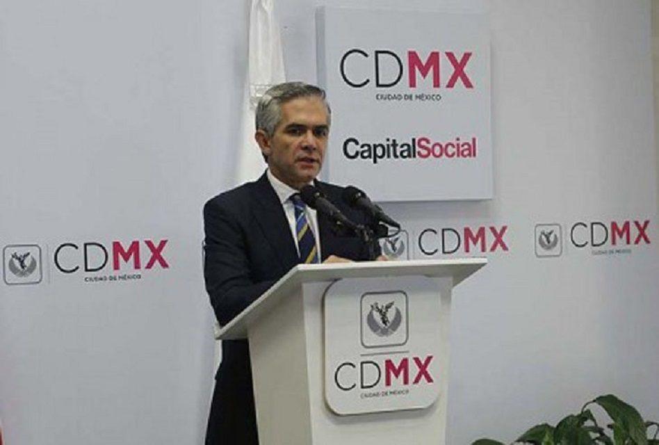 """""""Solo buenas intenciones"""", Mancera sobre plan económico de gobierno"""