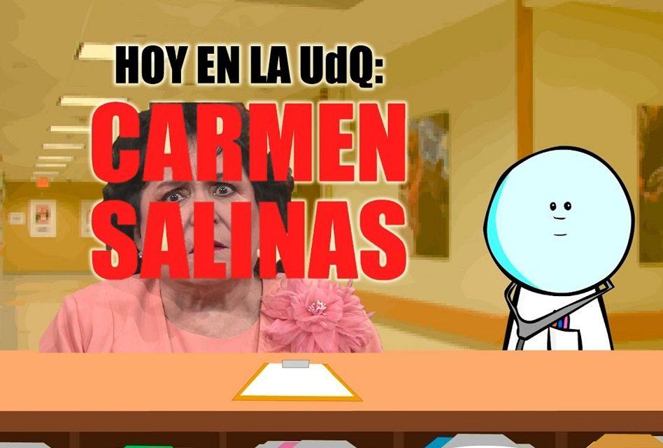 """Por sus declaraciones sobre el gasolinazo, Carmen Salinas se va directo a """"La Unidad de Quemados"""""""