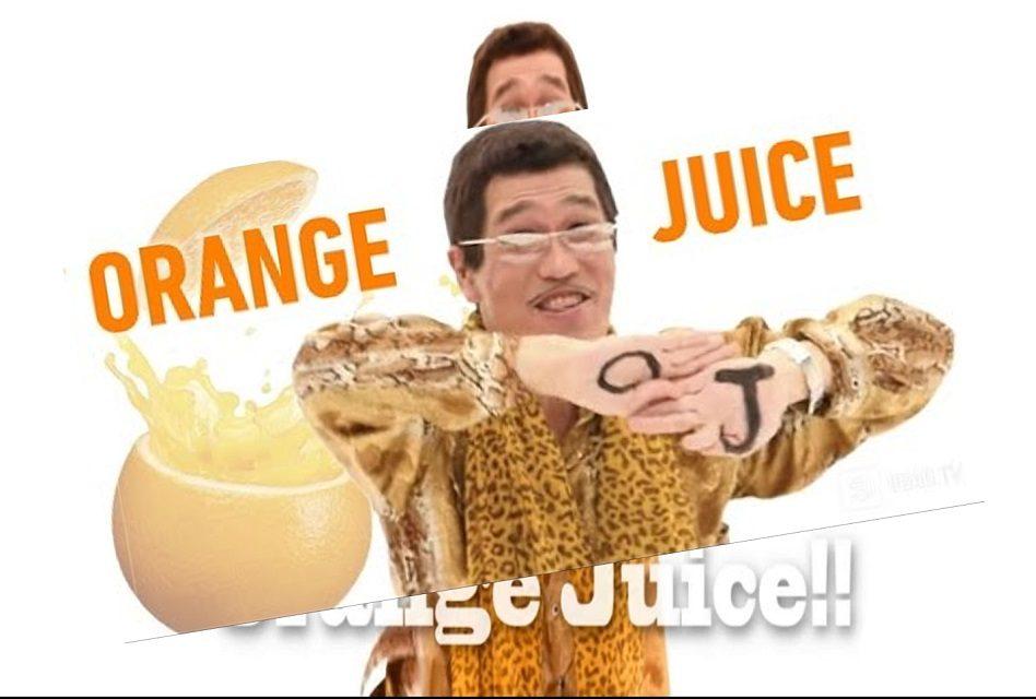 """Piko Taro el de """"Pen Pineapple Apple Pen"""" la vuelve a hacer ahora con """"Orange Juice"""""""