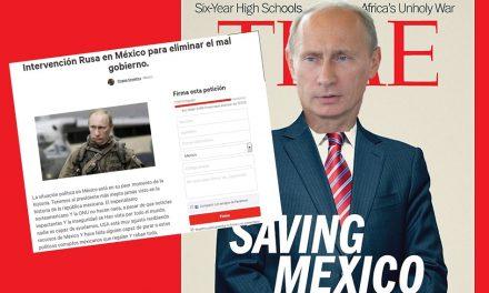 """Miles firman petición para que Putin venga y """"Salve a México"""" ¡WTF!"""
