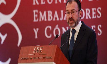 """""""México negociará con Estados Unidos sin miedo"""", asegura Videgaray"""
