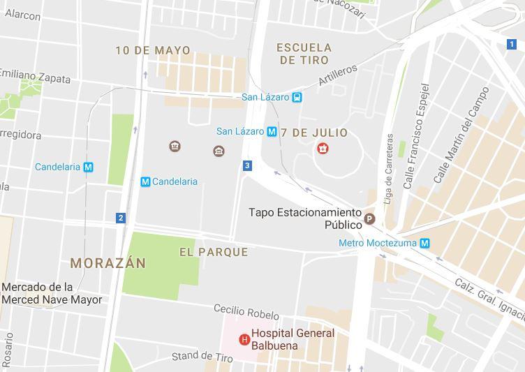 Ahora cambian nombre en Google Maps a la Cámara de Diputados