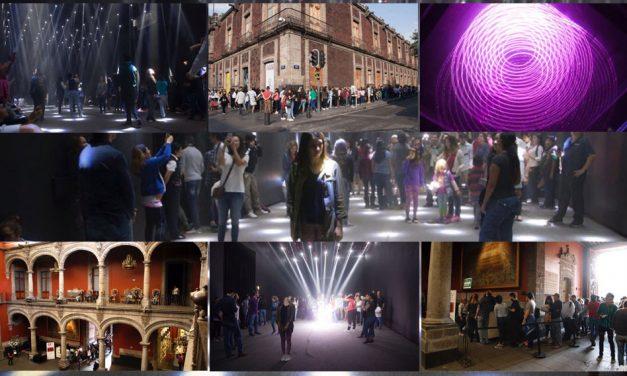 """Más de 60 mil personas disfrutan exposición """"Ciudad de México y Arte Digital: Luz e Imaginación"""""""