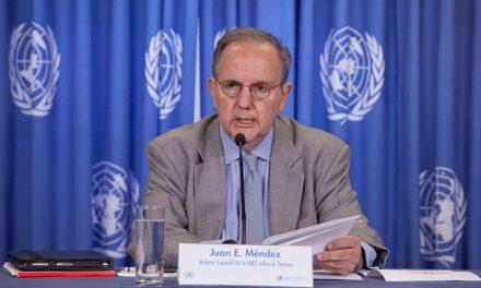 ONU lamenta que tortura e impunidad sean práctica generalizada en México