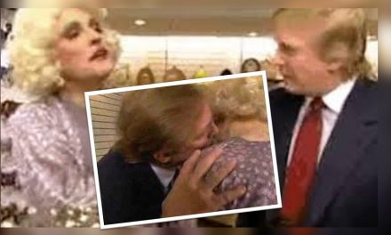 ¡OMG! Circula video de Trump coqueteando con Giuliani (ex alcalde de NY) disfrazado de mujer
