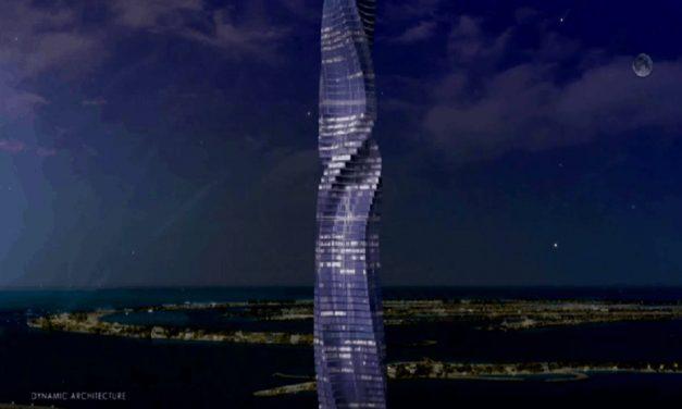 Construirán edificio giratorio en Dubai