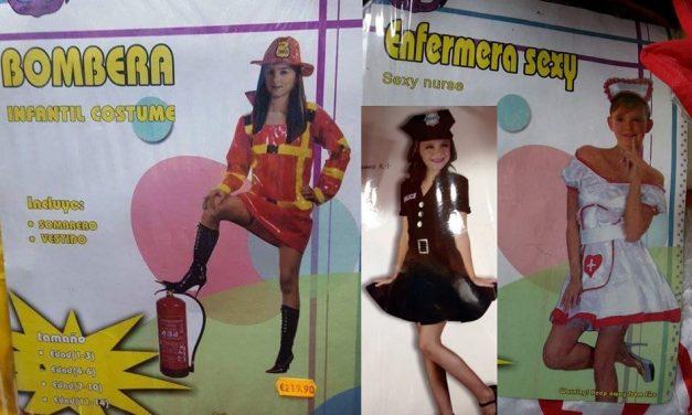 Los disfraces para niñas que no querrás que tus hijas usen ¡jamás!
