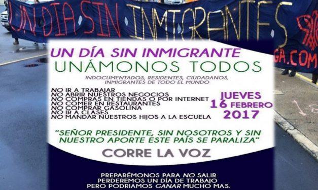 """Preparan en Estados Unidos protesta de """"El Día Sin Inmigrantes"""" ¿Qué pasará?"""