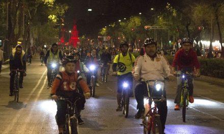 """Celebra CDMX """"Día del Amor y la Amistad"""" con Paseo Nocturno en bici"""