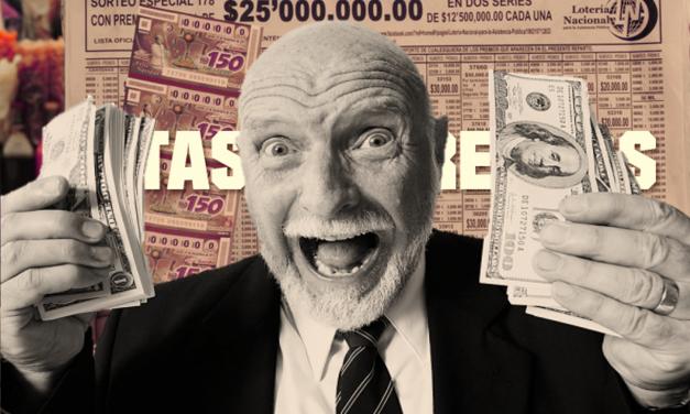 ¿Sacarte la lotería sin comprar boleto? (Ta fácil)