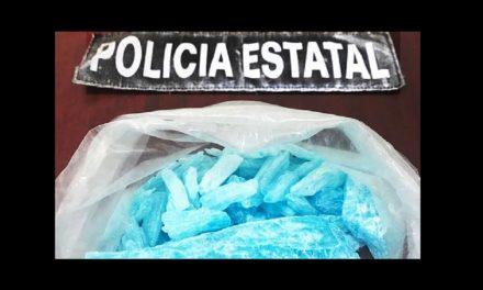 """¡""""Breaking Bad"""" en Sonora! Aseguran 300 gramos de """"crystal azul"""""""
