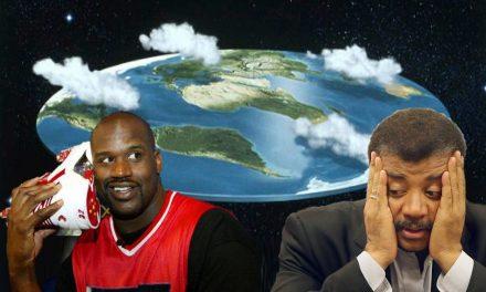 """""""La Tierra es plana"""" dice Shaquille O'Neal, la leyenda del baloncesto ¡Miles creen igual!"""
