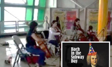 ¡Sublime! Interpretan a Bach en el Metro de Monterrey #BachInTheSubways