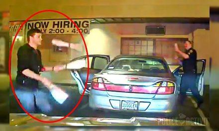 #EpicWin Para demostrarle a la policía que no estaba ebrio ¡Se puso a hacer malabares!