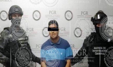 PGR detiene a uno de los más buscados por el FBI