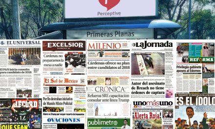 Las primeras planas en México