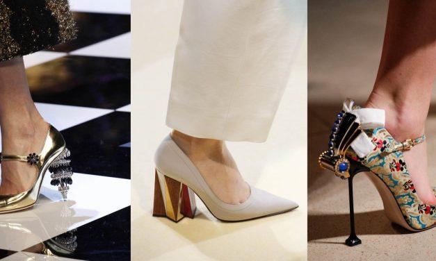 Zapatos escultóricos