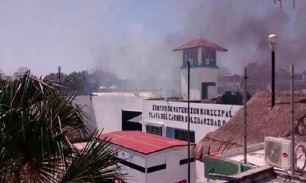 Motín en penal de Playa del Carmen, 22 heridos