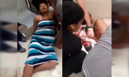 Mujer da a luz en la sala de espera en el IMSS, el hospital niega negligencia