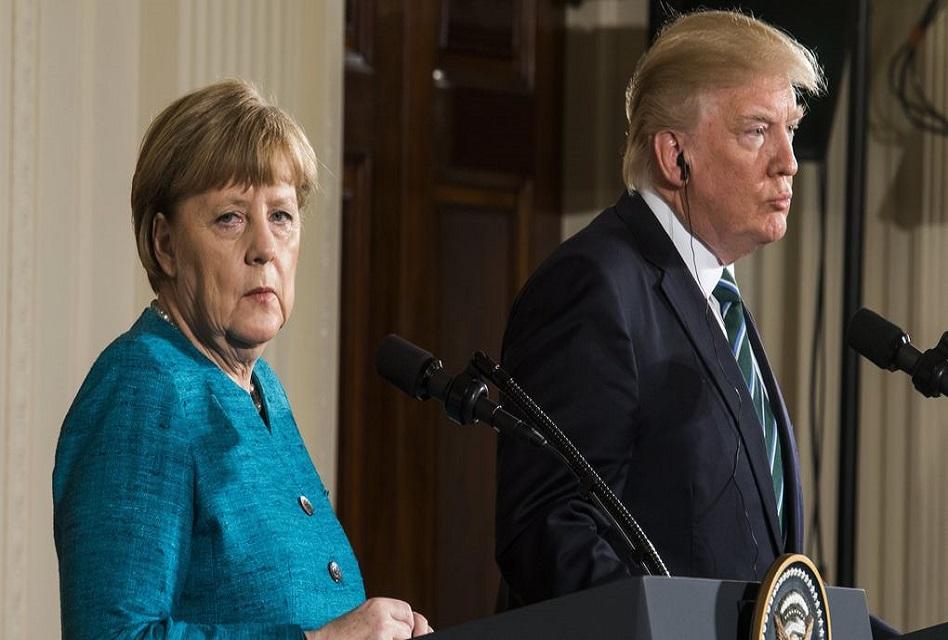 Vía Twitter, Donald Trump atacó a Alemania ya Angela Merkel
