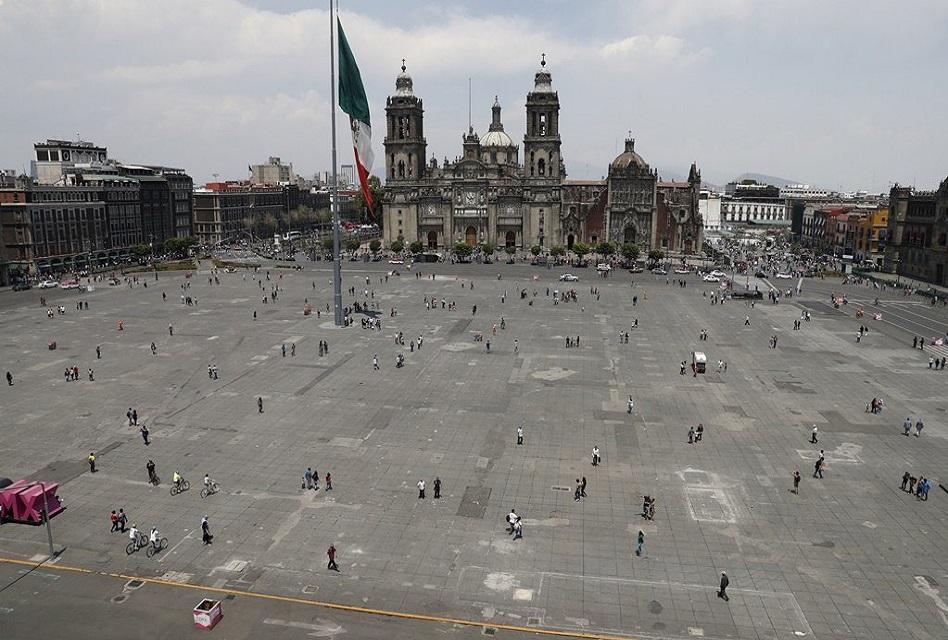 Tras remodelación, esta mañana reinauguraron plancha del Zócalo