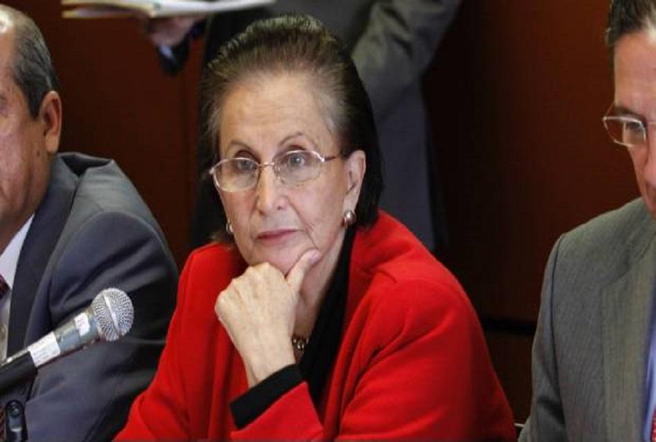 Fallece titular de Indesol, María Angélica Luna Parra