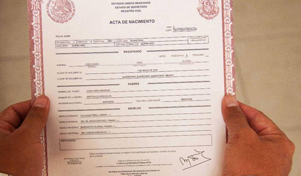 Excepcional Certificado De Nacimiento Milwaukee Imágenes - Cómo ...
