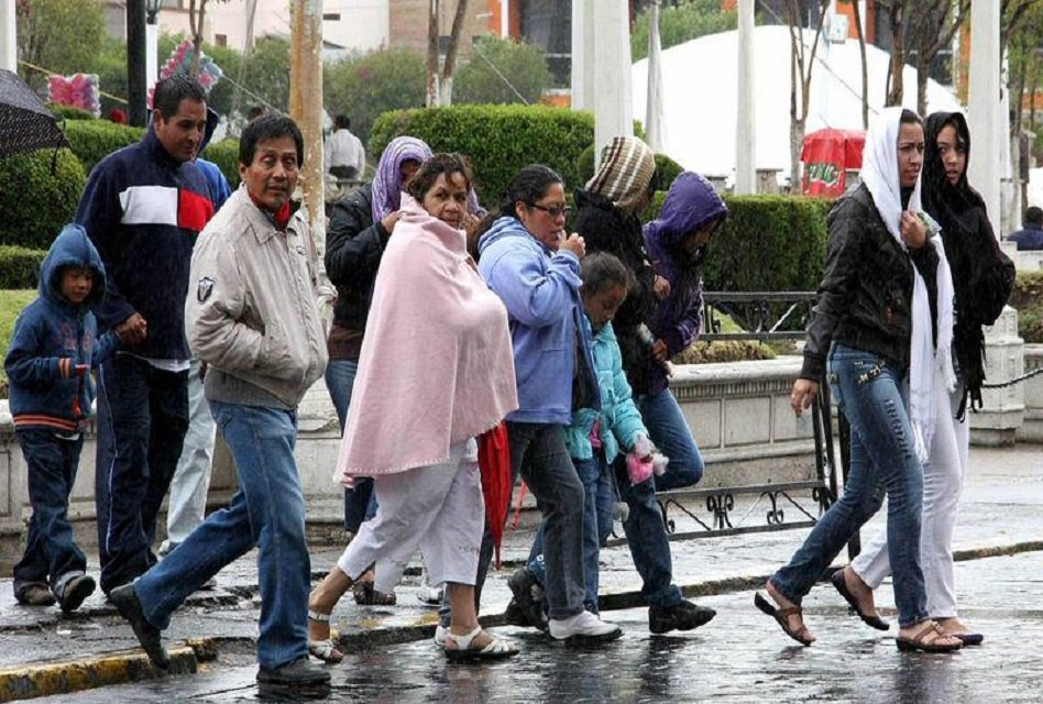 Nuevo Frente Frío causará lluvias en noroeste del país
