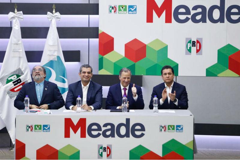 Meade se registra formalmente ante el INE