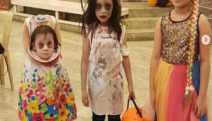 Increible Disfraz De Halloween De Una Nina Sin Cabeza Fernanda - Disfraces-sin-cabeza
