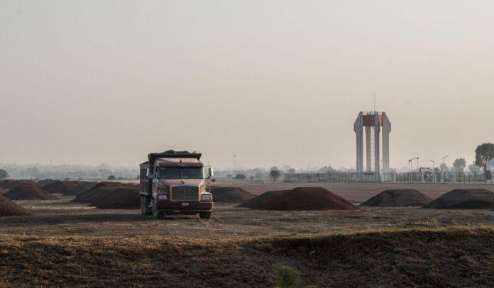 Los terrenos de Santa Lucía donde se construirá el aeropuerto de AMLO (Foto: Cuartoscuro)