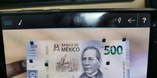 Recientemente la app recibió la actualización para ser compatible con la nueva familia de billetes. (Montserrat Tula) Foto: Milenio