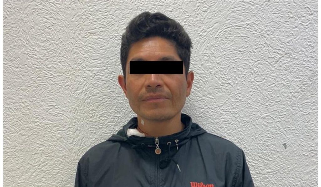 """Edgar Rafael """"N"""", pareja sentimental de la maestra de Danza, Sonia, fue detenido como probable responsable del delito de feminicidio"""