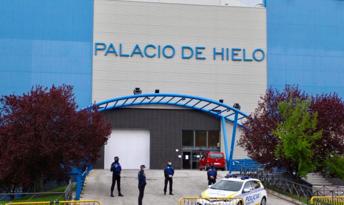 El Palacio de Hielo se convierte en una morgue