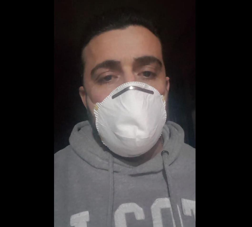 Encerrado con su hermana muerta por coronavirus, italiano permanece en cuarentena